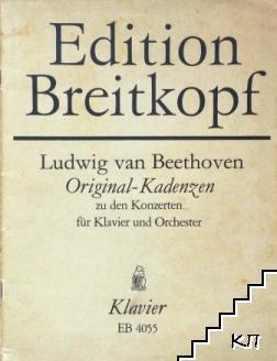 Original - Kadenzen zu den Konzerten für Klavier und Orchester