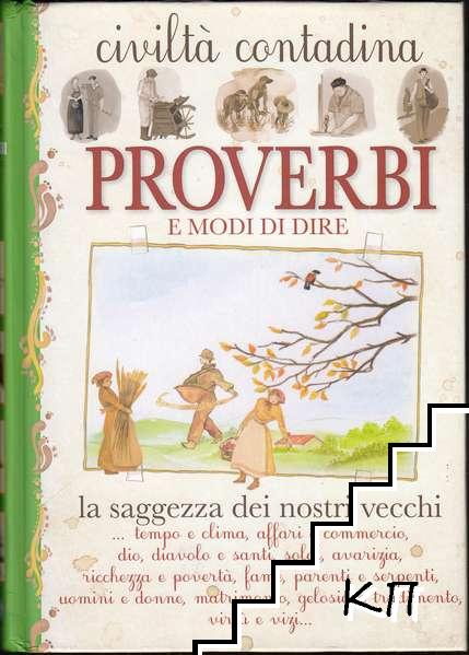 Proverbi e modi di dire: Civiltà contadina