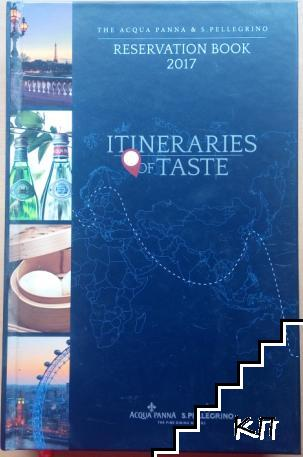 Reservation book 2017. Itineraries of Taste