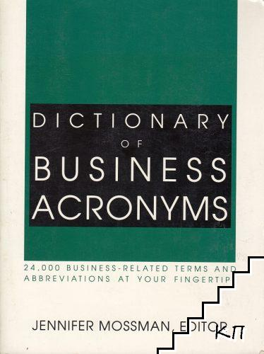 Dictionary of Business Acronyms