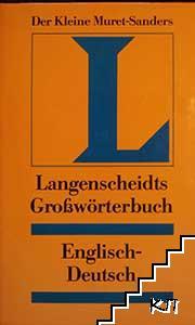 Langenscheidts Großwörterbuch: Englisch-Deutsch