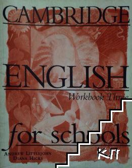 Cambridge English for Schools. Workbook 3