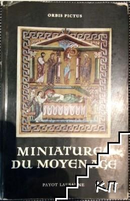 Miniatures du Moyen Age