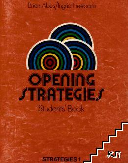 Opening Strategies. Students' Book