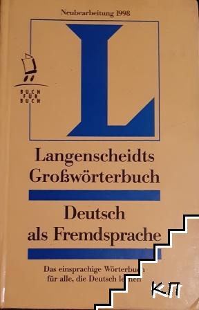 Langenscheidts Großwörterbuch