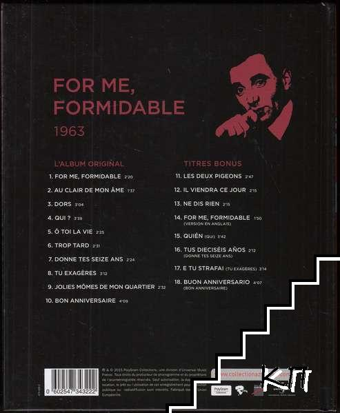 La Collection officielle Charles Aznavour. For me, formidable 1963 (Допълнителна снимка 1)