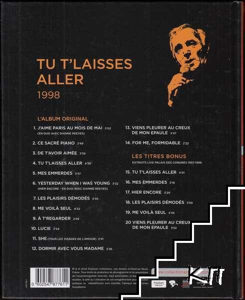La Collection officielle Charles Aznavour 1998. Tu T'laisses Aller (Допълнителна снимка 1)