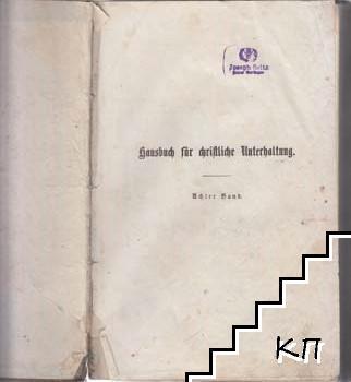 Hausbuch für christliche Unterhaltung. Band 8