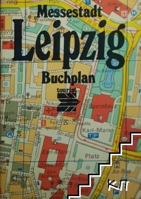 Buchplan Messestadt Leipzig