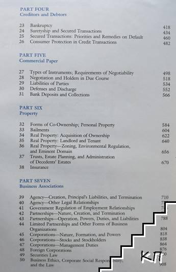 Foundations of Busines Law (Допълнителна снимка 2)