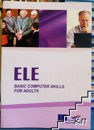 Basic computer skills for adults