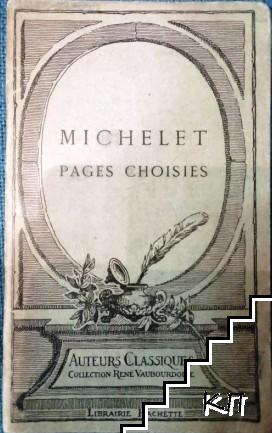 Michelet: Pages Choisies