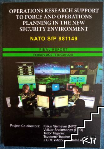 Operation Research Support to Force and Operations Planning in the New Security Environment