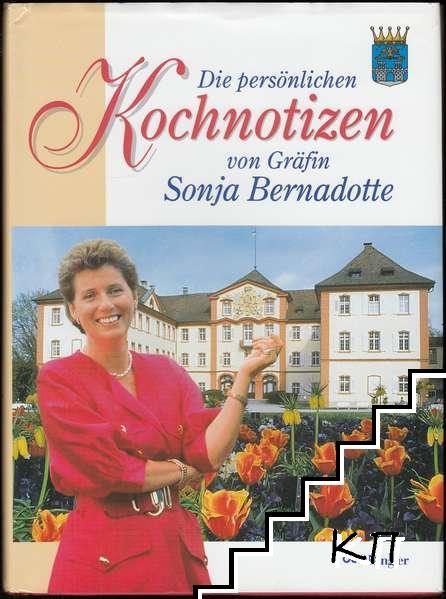 Die persönlichen Kochnotizen von Gräfin Sonja Bernadotte