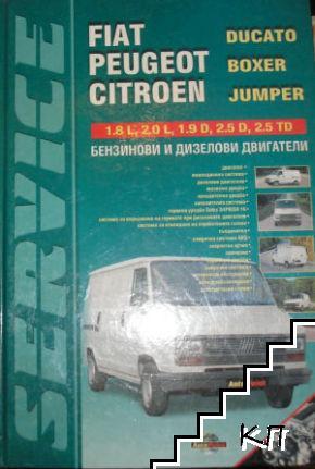 Fiat Ducato, Peugeot Boxer, Sitroen Jumper