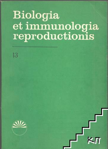 Biologia et immunologia reproductionis. Part 13-16