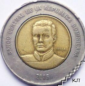 10 песос / 2005 / Доминиканска Република