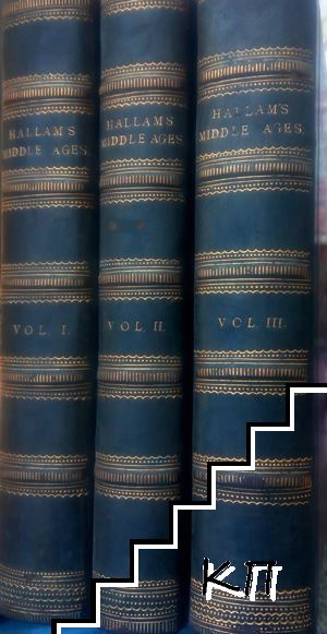 View of the State of Europe During the Middle Ages. In Three Volumes. Vol. 1-3 (Допълнителна снимка 1)