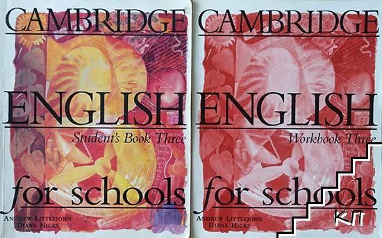 Cambridge English for School. Student's book 3 / Workbook 3