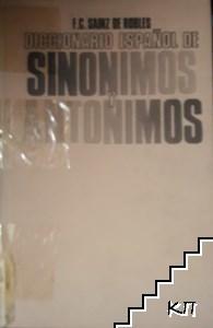 Diccionario español de sinonimos antonimos