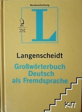 Langenscheidt Großwörterbuch