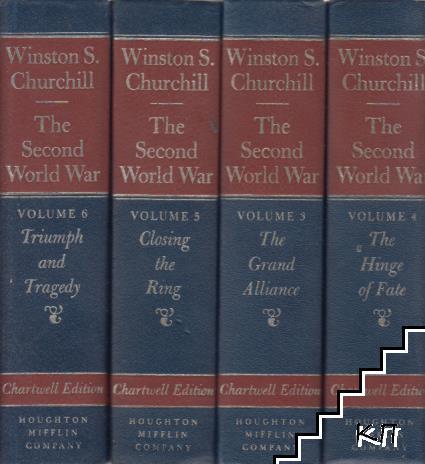 The Second World War. Vol. 3-6