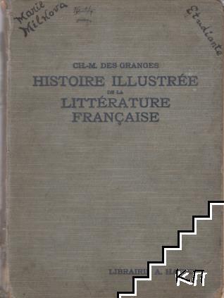 Historie illustrée de la Littérature Française des Origines à 1920