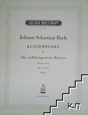 Johann Sebastian Bach. Klavierwerke. Heft I-IV