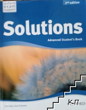 Solutions. Advanced Student's Book / Advanced Workbook with audio CD