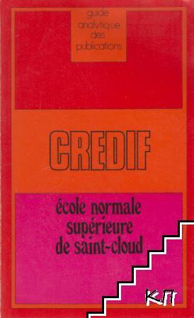 Credif - école normale supérieure de saint-cloud