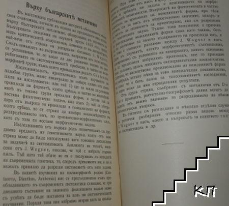 Über die Centaureen Bulgariens (Допълнителна снимка 1)