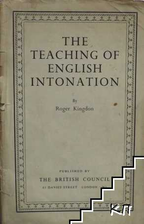 The Teaching of English Intonation