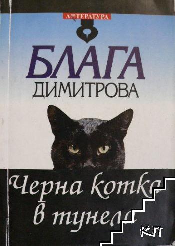 Черна котка в тунела