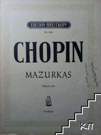 Mazurkas. Klavier-Werke