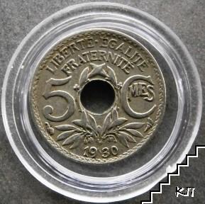 5 сантима / 1930 / Франция