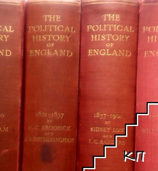 The Political History of England in Twelve Volumes. Vol. 9-12 (Допълнителна снимка 2)