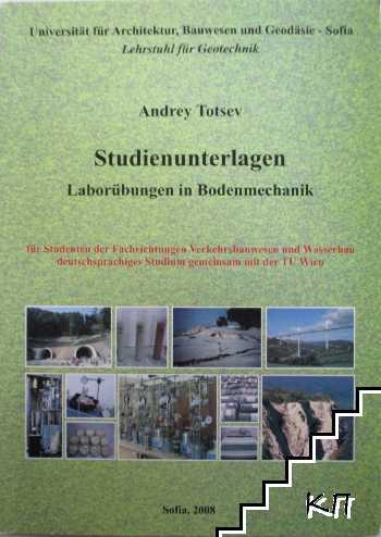 Studienunterlagen: Laborübungen in Bodenmechanik