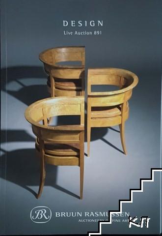 Design Live Auction 891. Bruun Rasmussen