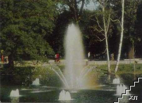 Парк на свободата - фонтанът
