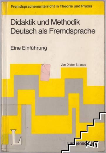 Didaktik Und Methodik Deutsch Als Fremdsprache