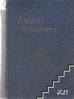 Zmizelý dokument