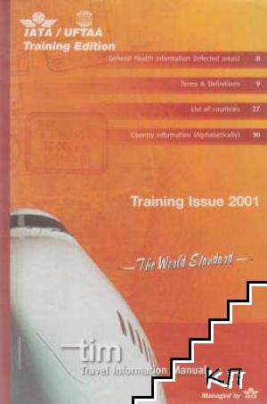 Training issue 2001. Travel information manual