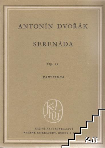 Serenáda. Op 22