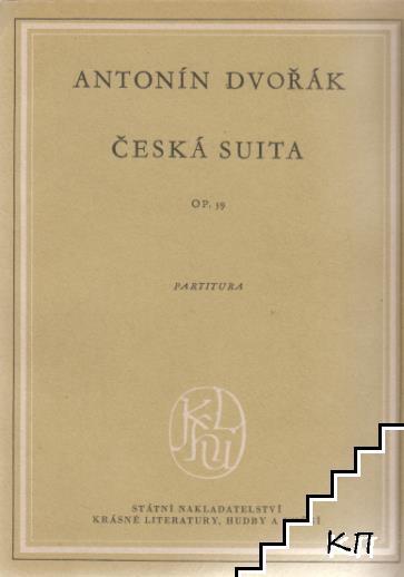 Česká suita. Op. 39