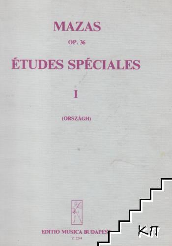 Еtudes spéciales. Op. 36