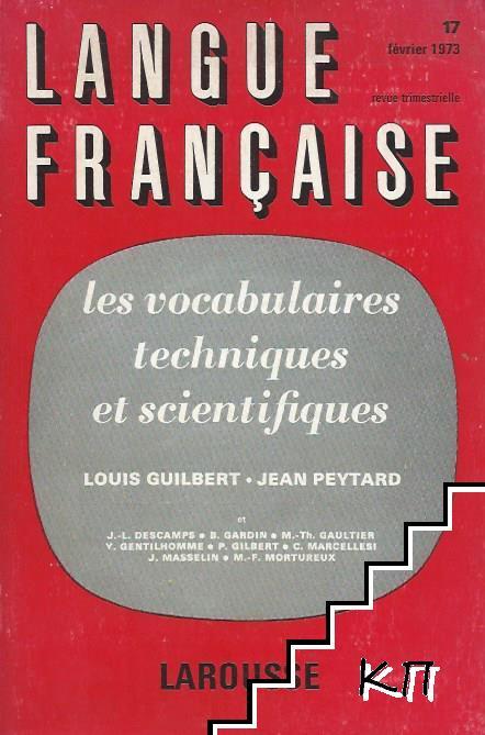 Langue Française № 17