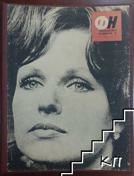Филмови новини. Бр. 1, 3, 9-12 / 1968. Бр. 5, 8 / 1969. Бр. 2, 10 / 1972. Бр. 5 / 1973. Бр. 3, 6, 9, 10-12 / 1975. Бр. 1, 3, 5-7, 9-12 / 1979. Бр. 1, 3, 4-7 / 1980