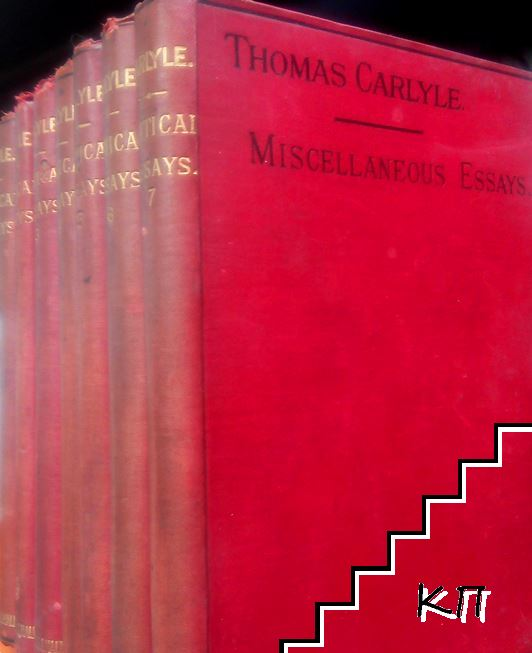 Critical and Miscellaneous Essays. In Seven Volumes. Vol. 1-7