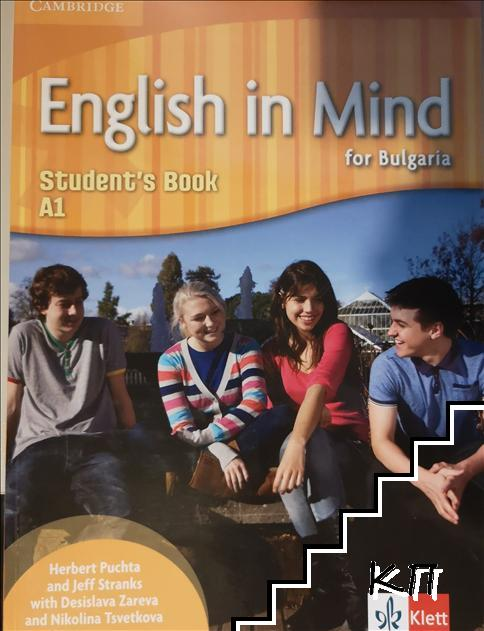 English in mind for Bulgaria. Student's book. A1