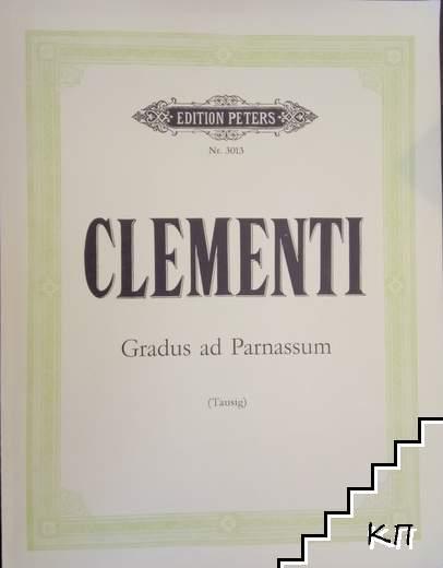 29 etuden aus Gradus ad Parnassum
